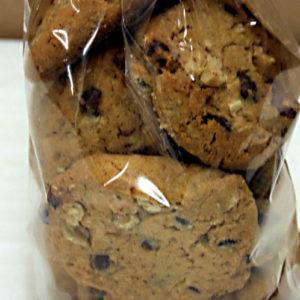 Cookies noix et pépites chocolat